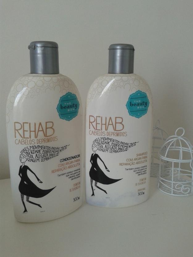 Shampoo e condicionador  Rehab